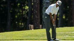 オバマ大統領、夏休みにゴルフ イラク空爆声明から数時間後