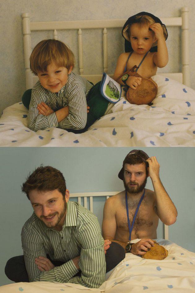 あんなに可愛かった子供が、今ではすっかり...(画像)