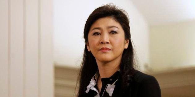 タイのインラック前首相が帰国 「職務怠慢」による告発に抗戦の構え