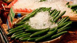 台風で野菜の卸売価格が値上がり キュウリは57%も高い