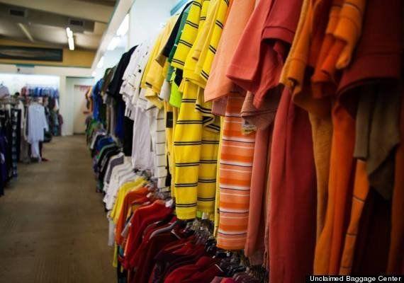 航空手荷物の忘れ物を集めて売る巨大な店がアラバマにある