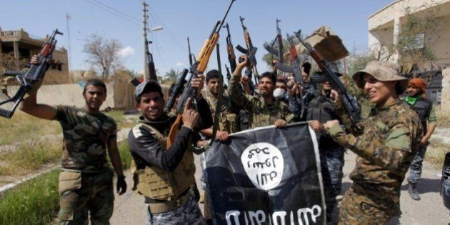 「イスラム国」からイラク北部ティクリートを奪還 イラク治安部隊が進攻