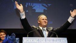 ニュージーランドで与党圧勝、ジョン・キー首相が3期目へ