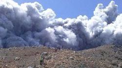 御嶽山が噴火、登山者も緊急避難 気象庁、警戒呼びかけ【画像】
