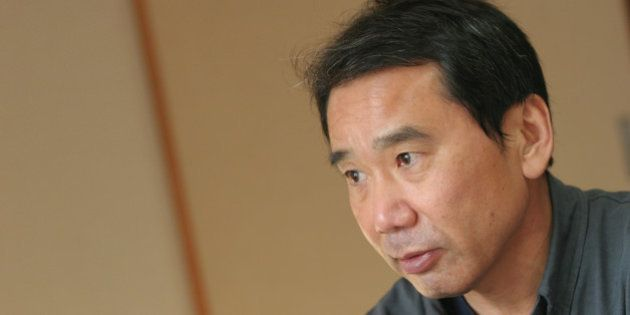 TOKYO, JAPAN - DECEMBER 14, 2004: Haruki Murakami, the Japanese best selling author/writer/novelist and...