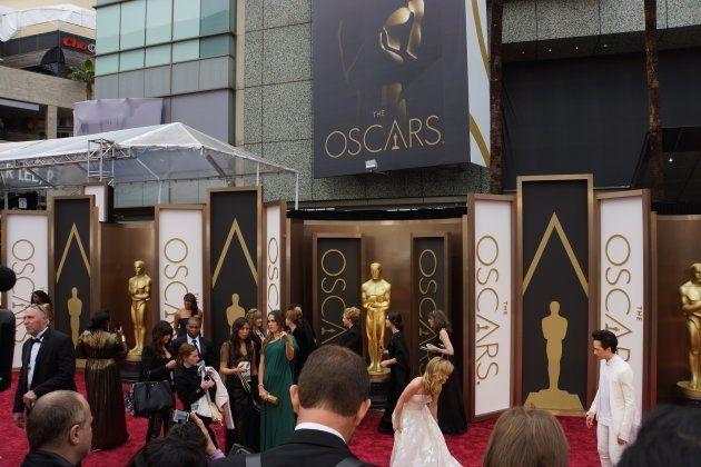 2014年3月、アカデミー賞授賞式のレッドカーペットイベントで(藤えりか撮影)