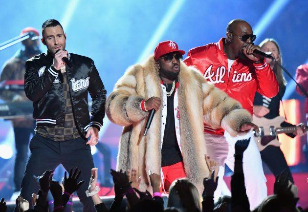 Maroon 5のレヴィーン、Big BoiとSleepy