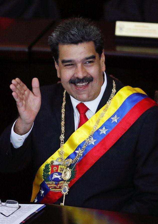ニコラス・マドゥロ大統領