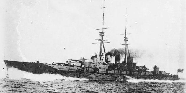 戦艦「比叡」