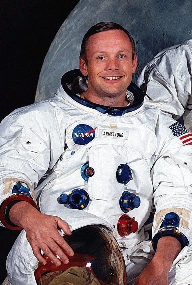 ニール・アームストロング元宇宙飛行士(1969年撮影)[NASA提供](アメリカ・フロリダ州マイアミ)