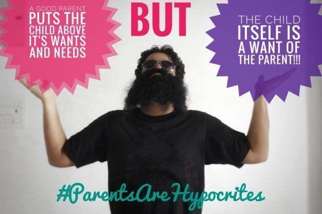 「良い親は、『欲しい』という自分の欲望より、子供を優先させるはずだ」と書かれている。