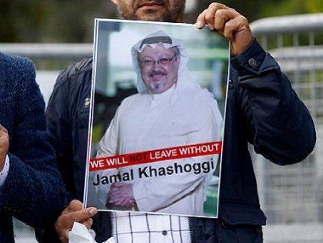 サウジアラビア人記者のジャマル・カショギ氏の写真