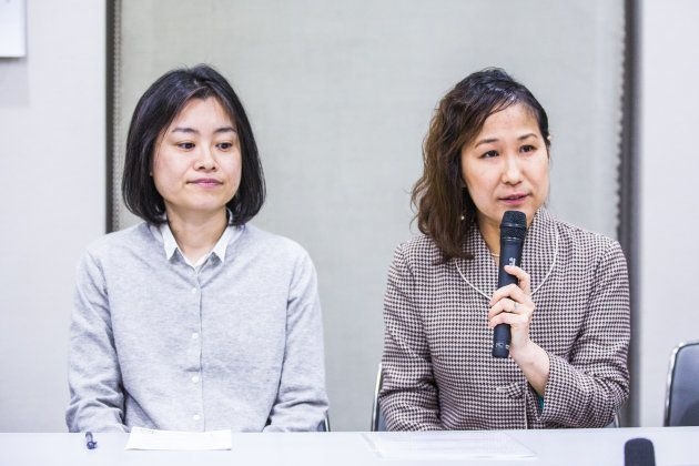 西川麻実さん(左)と小野春さん。