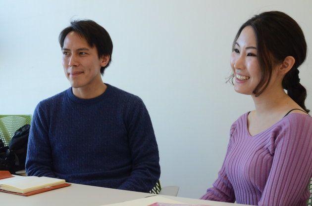 プロデューサーの柳川あかりさん(右)、田中昂さん