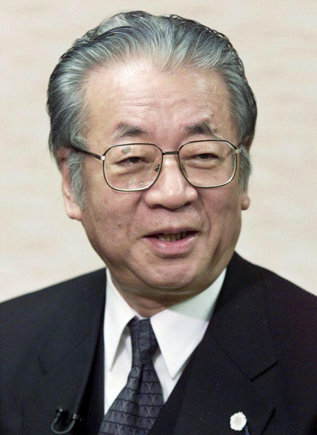 堺屋太一さん(1999年撮影)