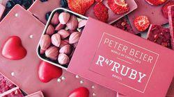 ルビーチョコレートがバレンタインで話題……