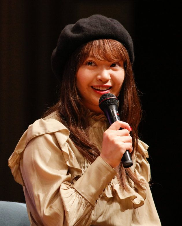 「ネクストリボン2019」で自身のがん経験を語る矢方美紀さん