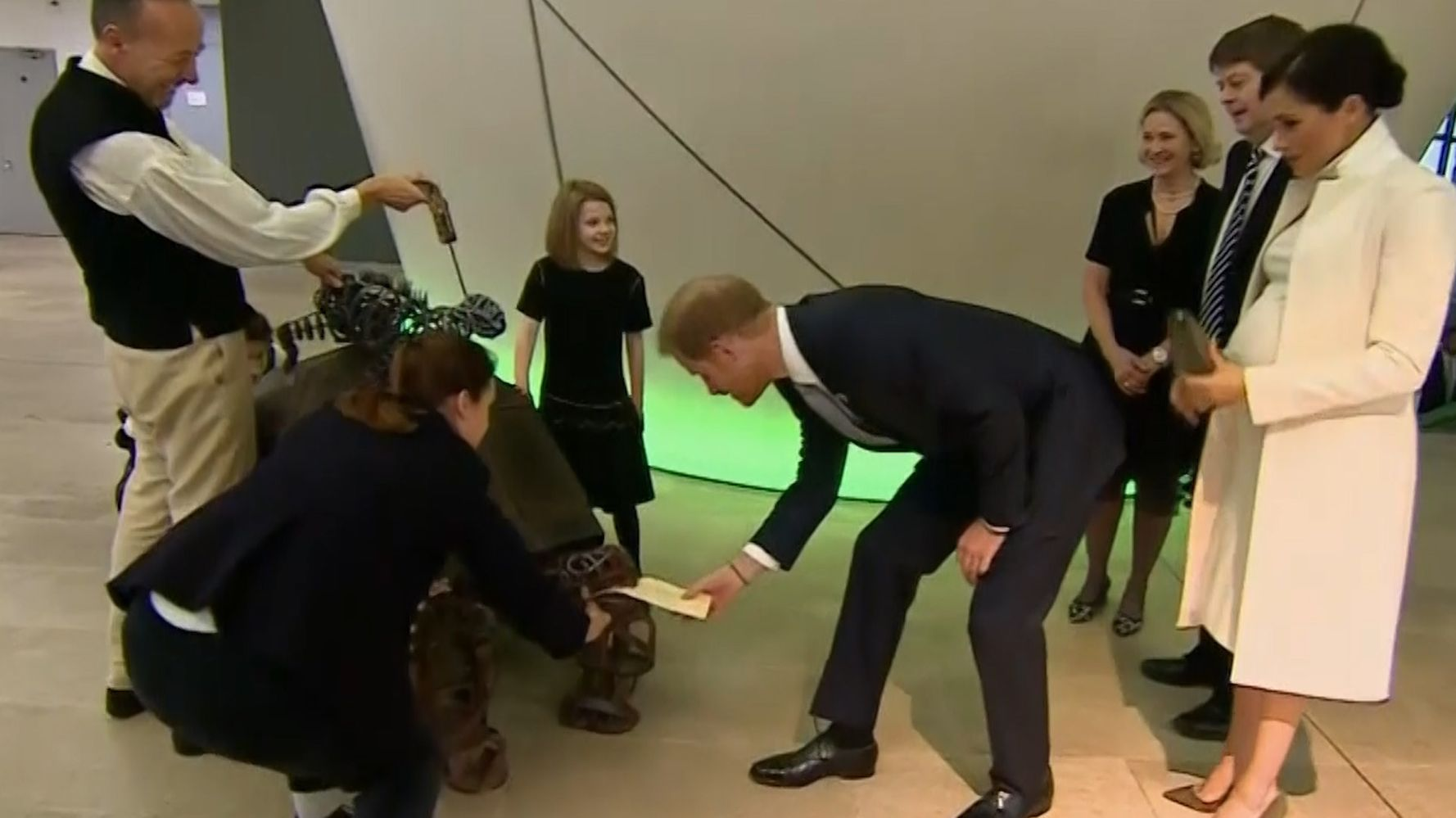 Harry And Meghan Head To The Natural History Museum