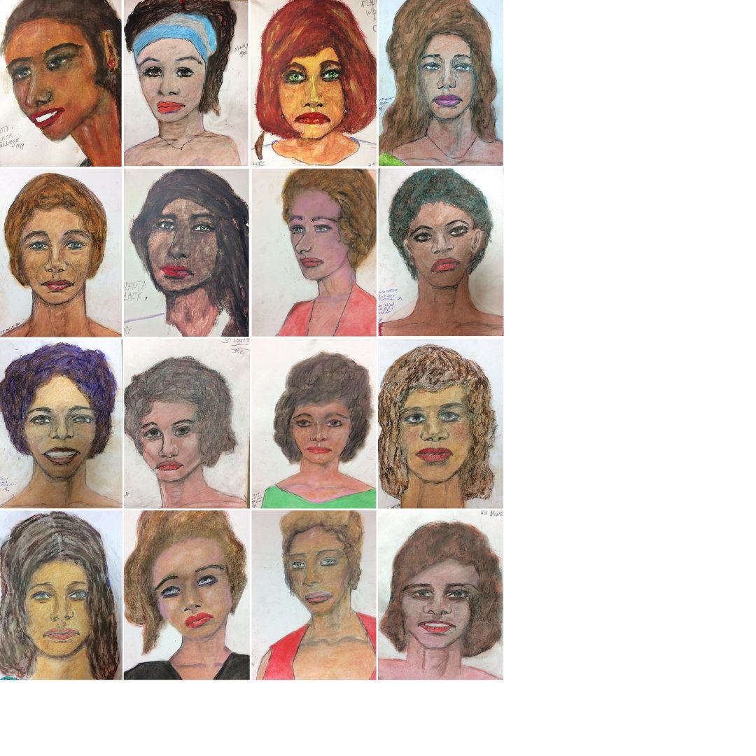 FBI wants help in identifying victims from portraits drawn by serial killer