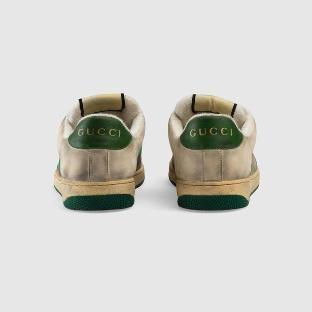 Η Gucci πουλά «βρώμικα» sneakers για 700€ - και θα μείνει με τα παπούτσια στο