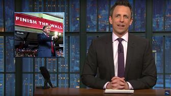 "Seth Meyers, host of ""Late Night"""