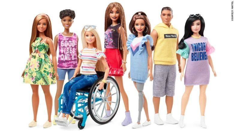 'Gamechanger': Barbie's Diverse New Line Praised By People With
