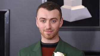 NEW YORK, NY - JANUARY 28:  Sam Smith attends the 60th Annual GRAMMY Awards - Arrivals at Madison Square Garden on January 28, 2018 in New York City.  (Photo by Presley Ann/Patrick McMullan via Getty Images)
