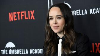 HOLLYWOOD, CALIFORNIA - FEBRUARY 12: Ellen Page attends the premiere of Netflix's 'The Umbrella Academy' at ArcLight Hollywood on February 12, 2019 in Hollywood, California. (Photo by Frazer Harrison/Getty Images)