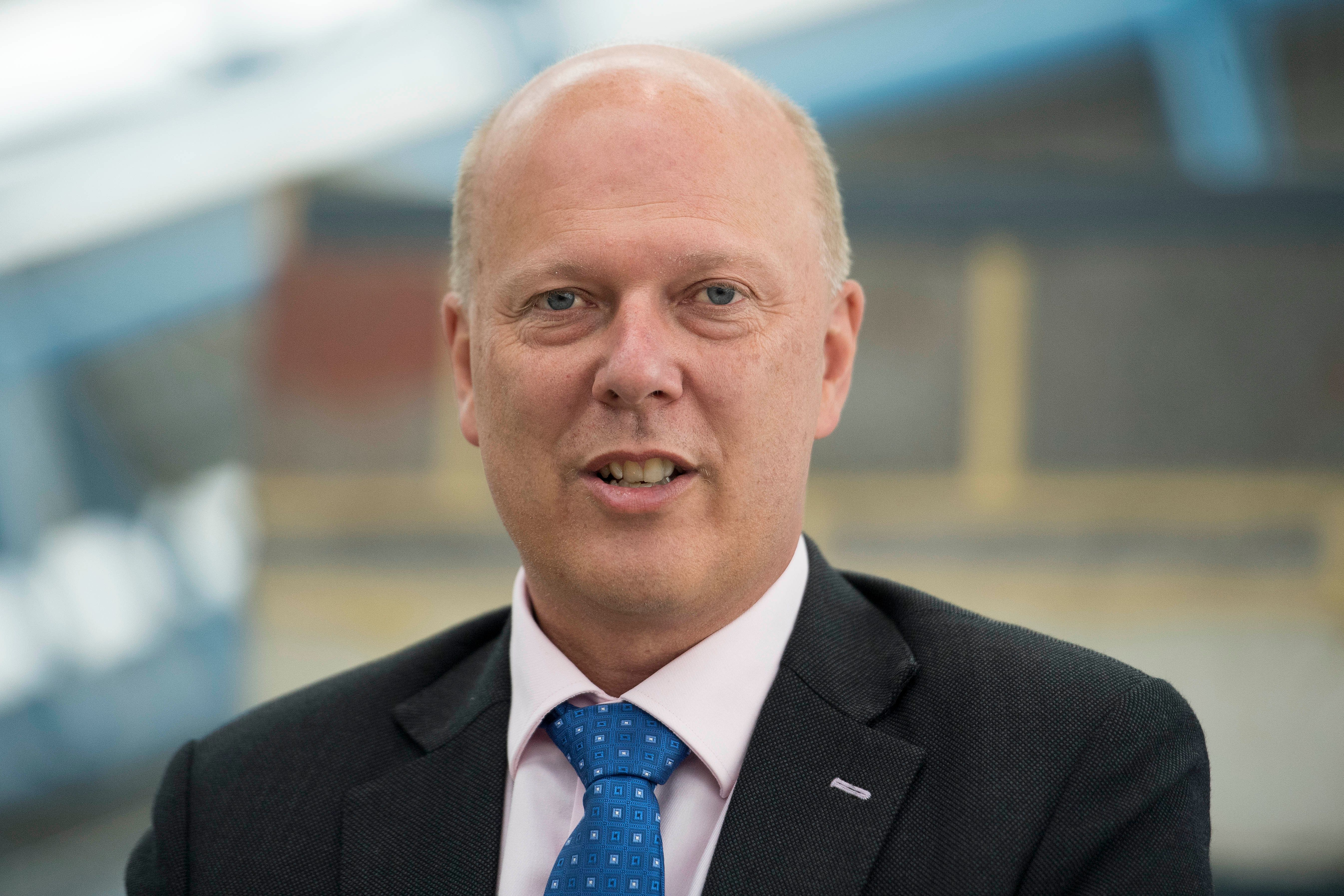 Transport Secretary Chris Grayling has faced calls to resign over the Seaborne Freight