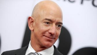 "February 12, 2019 - The Jeff Bezos / National Enquirer American Media Publishing scandal involving alleged blackmail, extortion, racy texts and compromising photographs continues to escalate. - File Photo by: zz/Dennis Van Tine/STAR MAX/IPx 2017 12/14/17 Jeff Bezos at the premiere of ""The Post"" in Washington, DC."