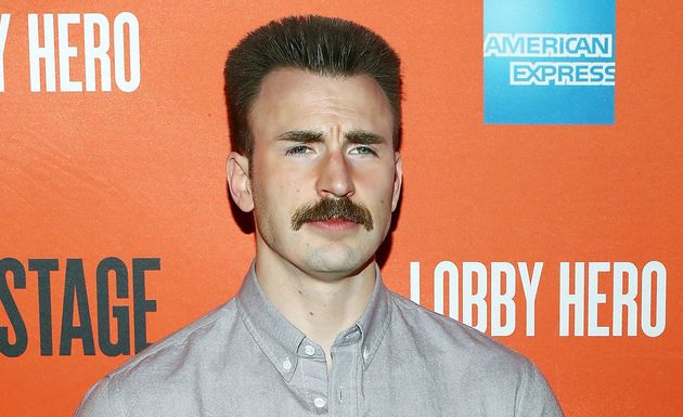 """Actor Chris Evans attends the """"Lobby Hero"""" Broadway opening night party in New York last"""