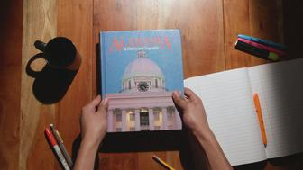 An Alabama children's history textbook from 1993.