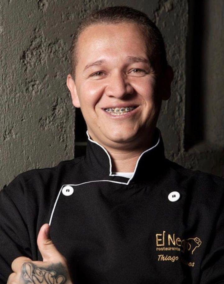 Thiago Chaves, do restaurante El Negro