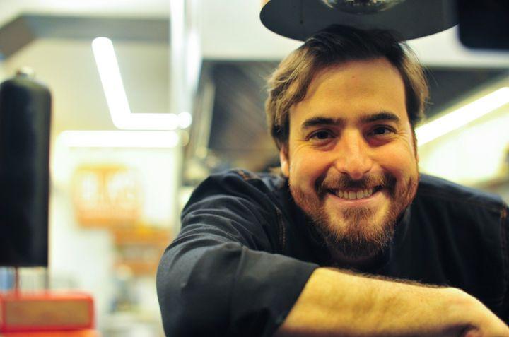 Gabriel Albano, chef do Bla's.