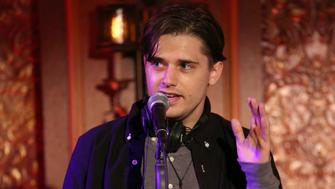 NEW YORK, NY - OCTOBER 03:  Andy Mientus from the cast of 'The Jonathan Larson Project' during the press preview on October 3, 2018 at Feinstein's/54 Below in New York City.  (Photo by Walter McBride/Getty Images)