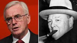 Labour's John McDonnell Brands Winston Churchill A