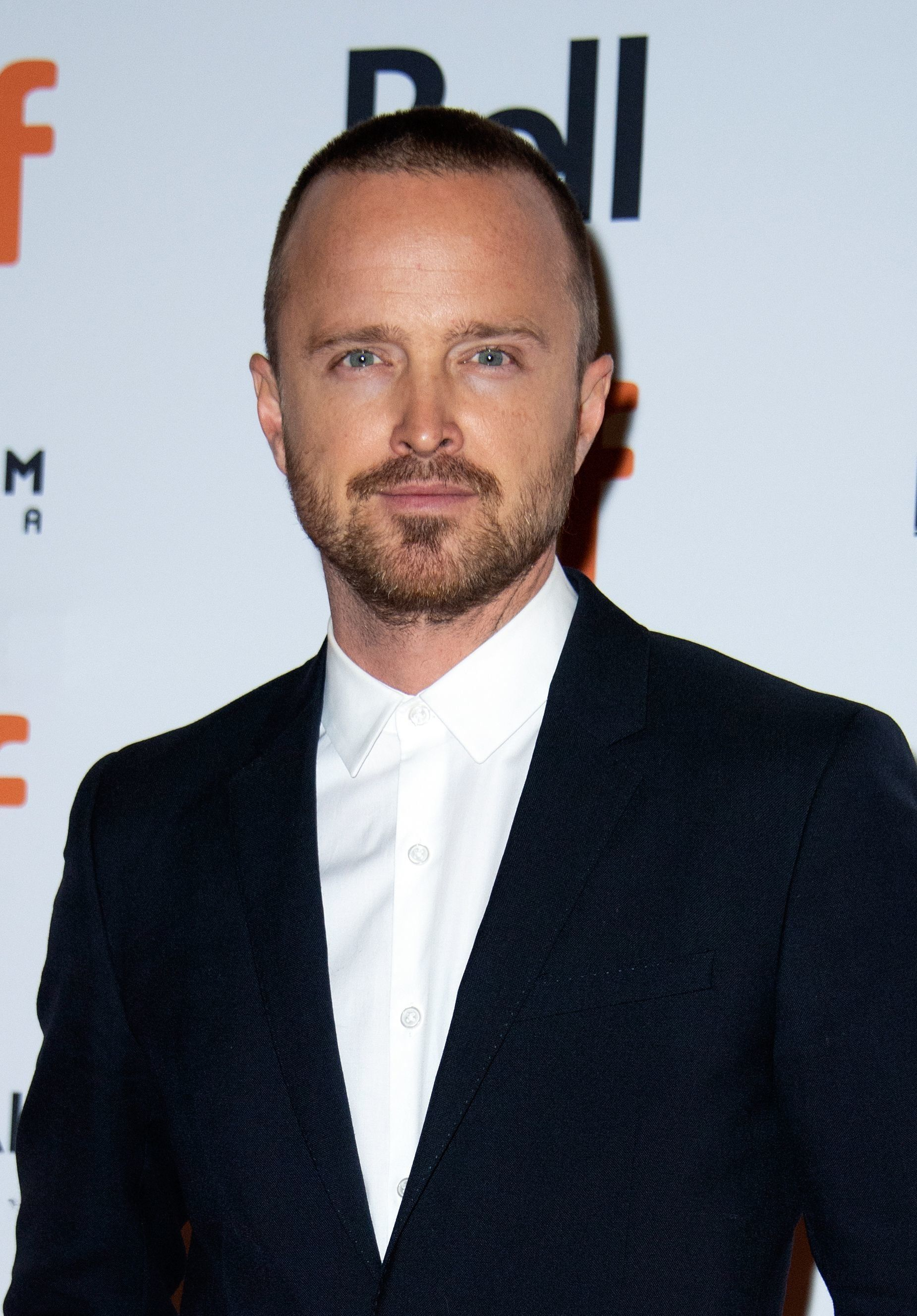 Actor Aaron Paul attends the premiere of 'American Woman' during the Toronto International Film Festival, on September 9, 2018, in Toronto, Ontario, Canada. (Photo by VALERIE MACON / AFP)        (Photo credit should read VALERIE MACON/AFP/Getty Images)