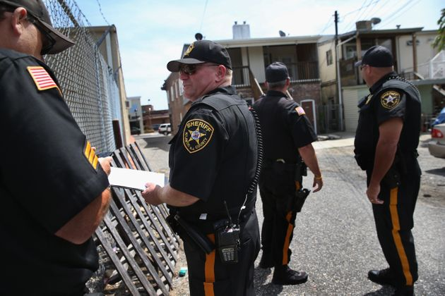 Police prepare to evict tenants in