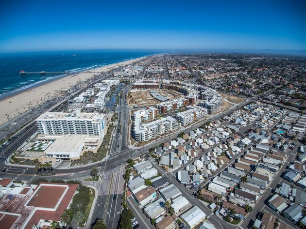 California is suing the city of Huntington Beach for building just 100 units of low-income housing...
