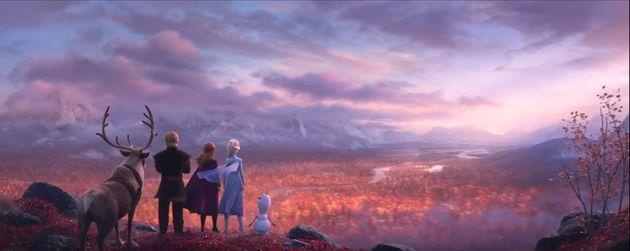 '겨울왕국2'에서 엘사는 머리를 질끈 묶는다(티저