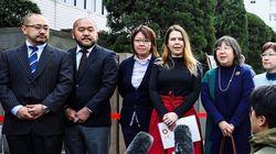 일본 전역에서 동성 커플의 손해배상 소송이