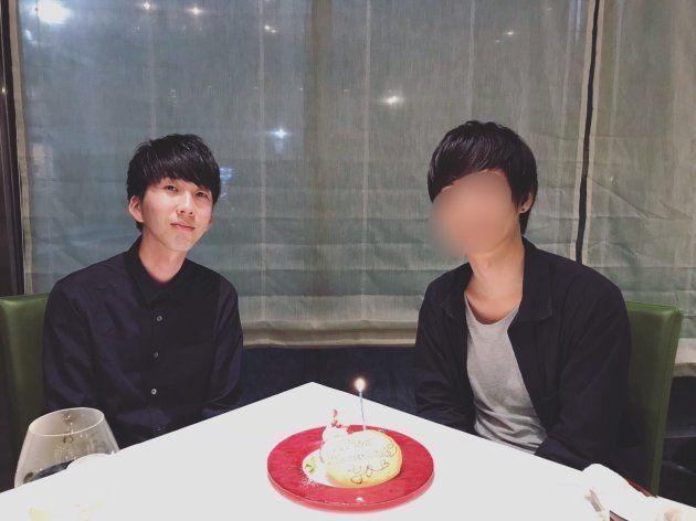 2018年初夏、パートナーの25歳の誕生日