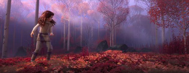 [이상한 장면] '겨울왕국2'의 삭제 장면으로 추정한 또 다른 버전의