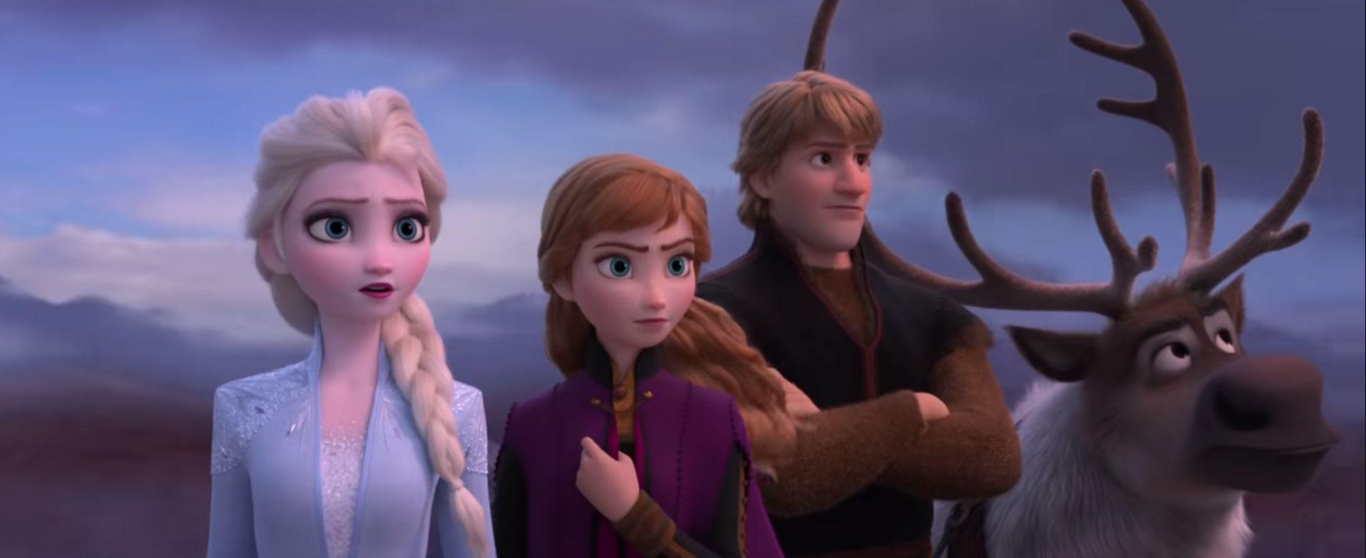 '겨울왕국2' 예고편에 마블 히어로 영화의 음악을 넣었더니