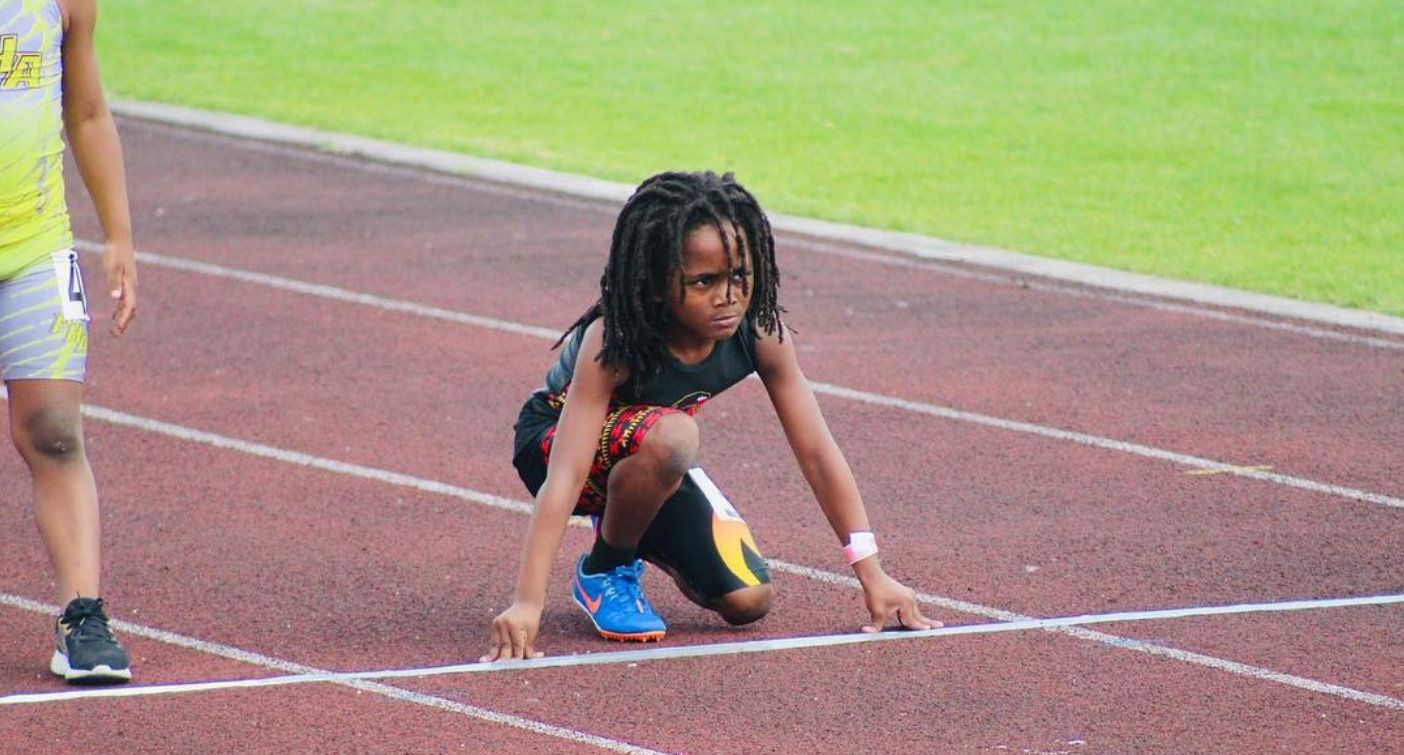 100m를 13초 48에 뛰는 7살 소년이 있다. 그는 '넥스트 우사인볼트'로