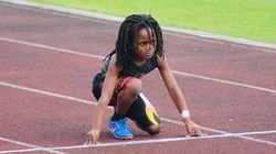 '넥스트 우사인볼트'로 불리는 7살 소년의 100m