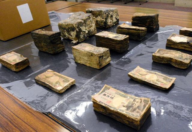 ボロボロになった札束1億円分が愛媛県知事あてに届く。その理由とは?