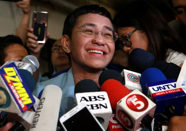Philippine Journalist Maria Ressa, Arrested For Libel, Released On Bail After