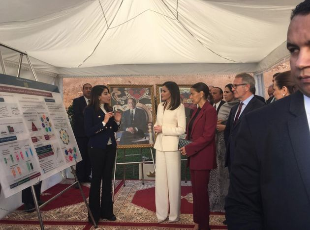 La reine Letizia d'Espagne et la princesse Lalla Meryem ont visité l'École de la Seconde chance à