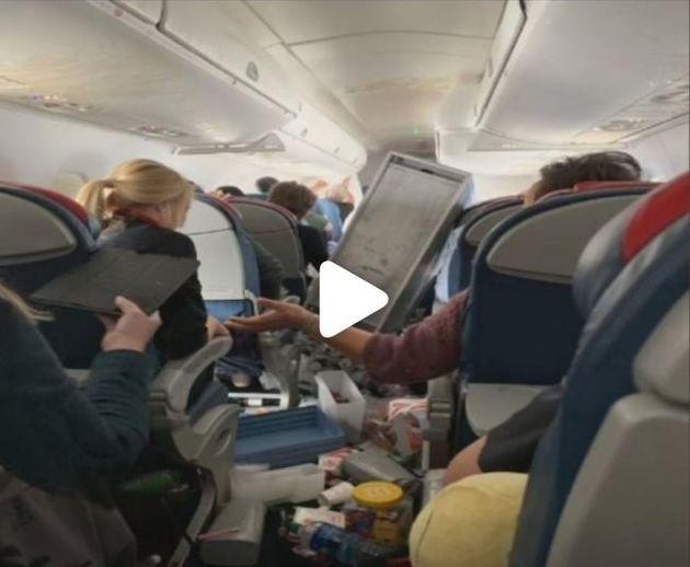 Η πτήση του τρόμου: Πέντε τραυματίες λόγω «Ανανά-Εξπρές» στην